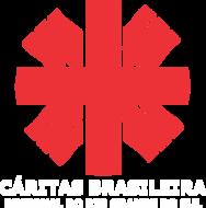 Main logo caritas rs lettering branco
