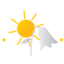 Main logotipo casas andre luiz menor